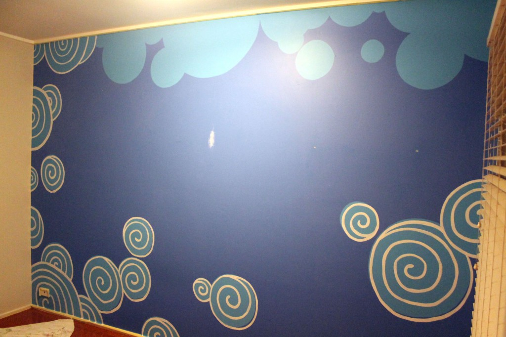 Mural - second step
