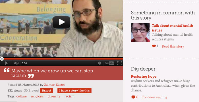 AHRC Something in Common website